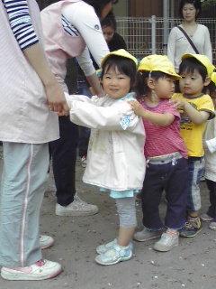 幼稚園に入学~ちい♪