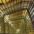 写真: 見下ろす黄金階段