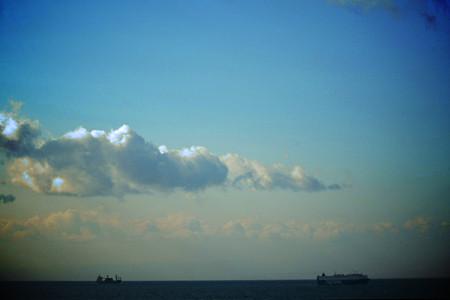 伊勢湾の空