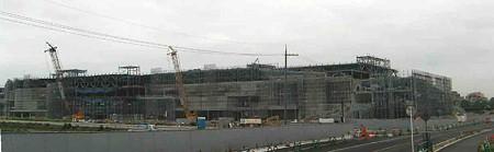 イオンモール草津(仮称)2008年冬 開業予定で建設中-200625-1