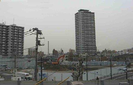 曳舟駅前地区第一種市街地再開発事業 II街区 商業施設棟 2009年3月着工-210215-1