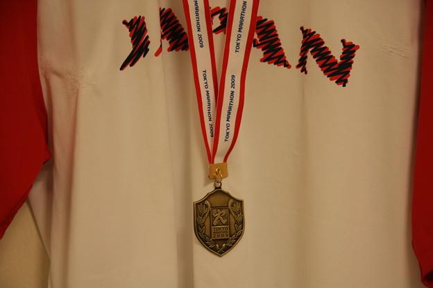 ユニフォームとメダル