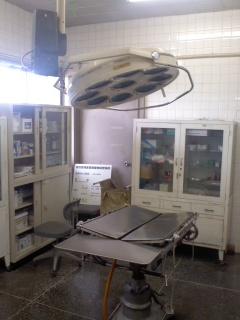 手術室(6月2日、動物愛護センター)