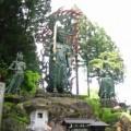 Photos: 栃木:古峯参道の途中にある、金剛山神社入り口不動明王像(鹿沼)