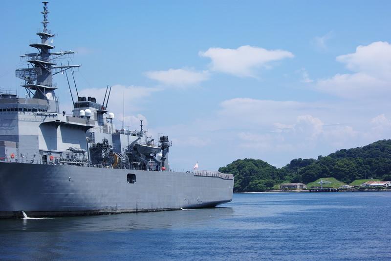 横須賀の軍艦