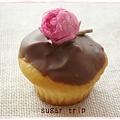 桜のチョコカップケーキ4