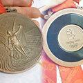 Photos: 本物の銅メダル!