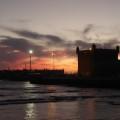 モロッコ、エッサウィラの夕焼け