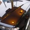BMW740iボンネット