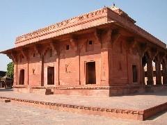 ファテープル・スィークリー(Fatehpur Sikri)の1つ