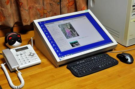 こんな感じのデスクトップ