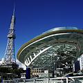 写真: テレビ塔 と オアシス21