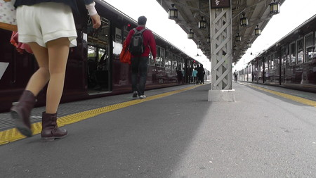 阪急嵐山駅の写真39