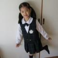 写真: 幼稚園の制服・・思い出に・・