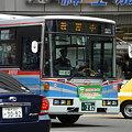 写真: バス 教習中