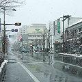 Photos: 雪の中央通り