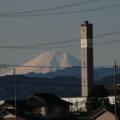 Photos: うちから見える富士山(冬季限定)