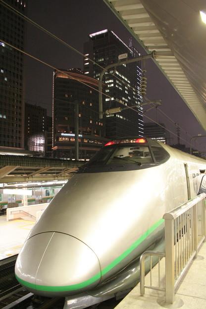 臨時 山形新幹線「つばさ190号」単行 東京駅にて