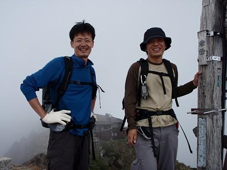 赤岳山頂2