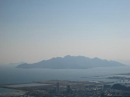 鈴ヶ峯山頂から望む宮島