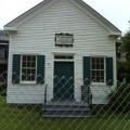 Klu Klux Klan Fairfax Virginia Police Station Relocated Legato School House of 19th Century