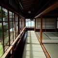 Photos: 起雲閣の和室と畳の廊下
