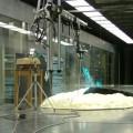 写真: 大型気象風洞装置