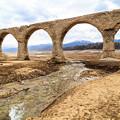 写真: タウシュベツ川橋梁
